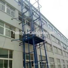 CE ISO Certificated Guide rail residential freight elevators storage used cargo lift